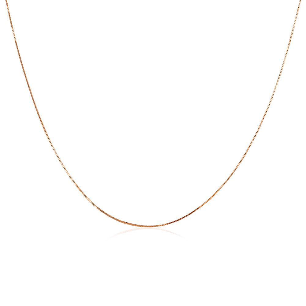Corrente Veneziana em Ouro 18k com 50cm