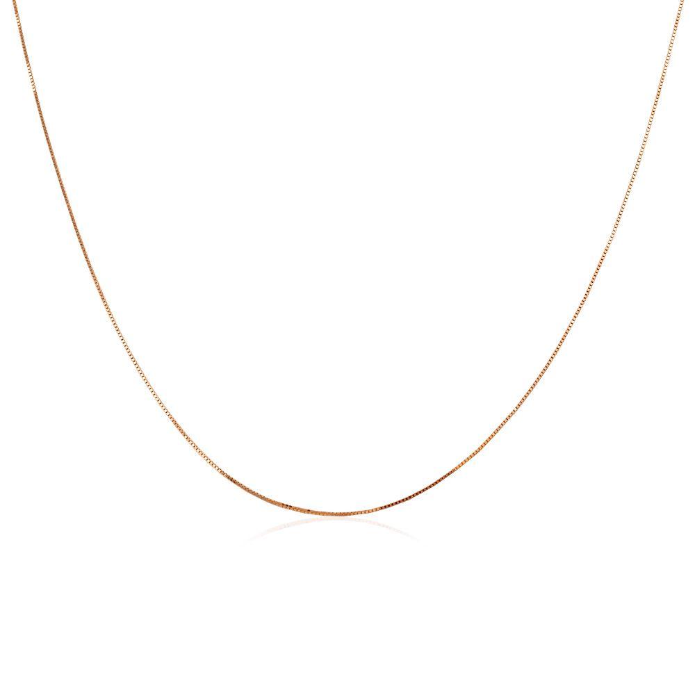 Corrente Veneziana em Ouro 18k com 40cm