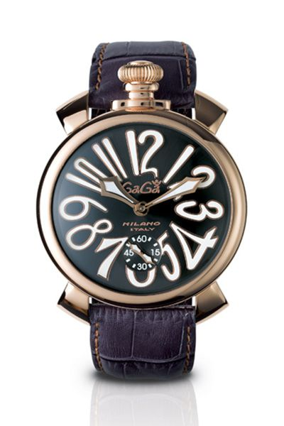 Gagá Milano 48mm Gold Plated