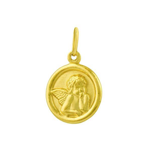 Pingente Anjo em Ouro 18k