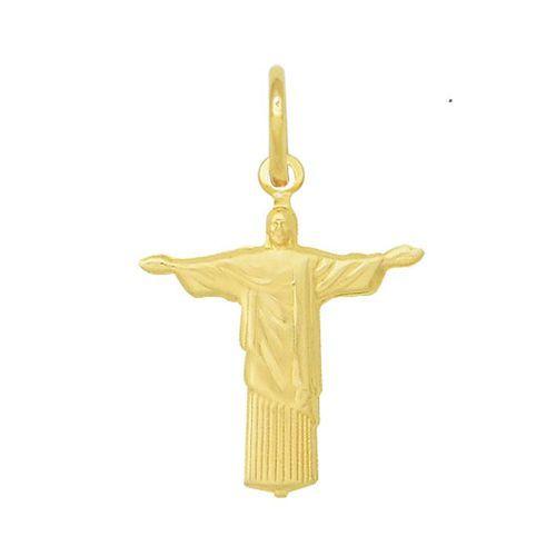 Pingente Cristo Redentor em Ouro 18k