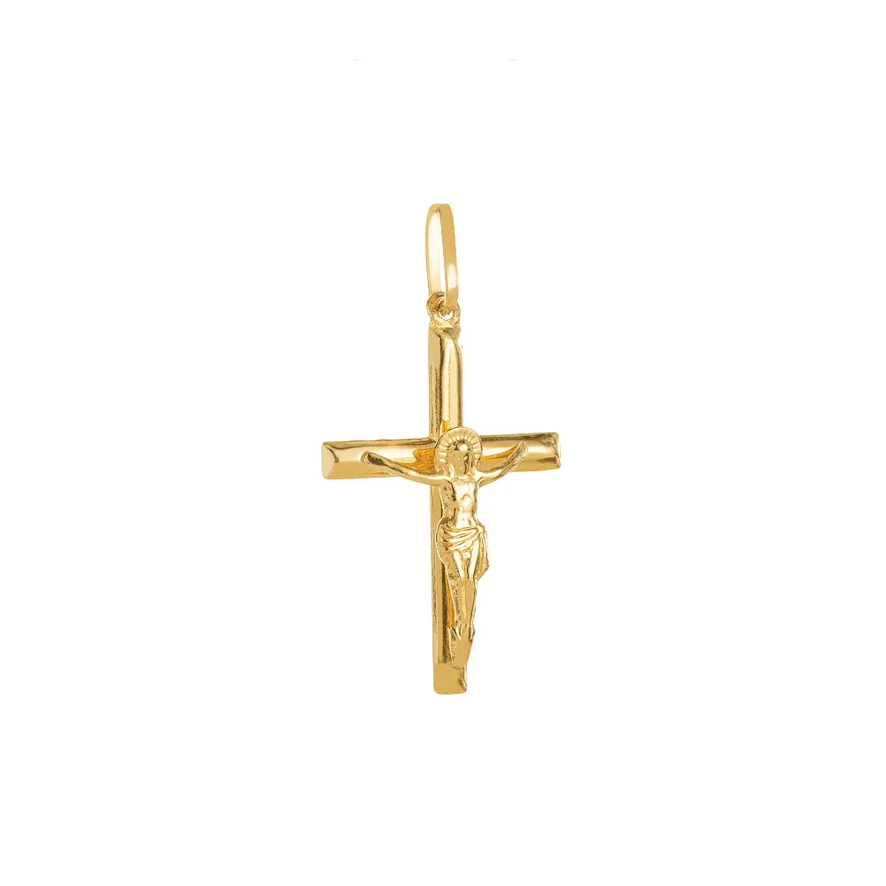 Pingente Crucifixo em Ouro 18k