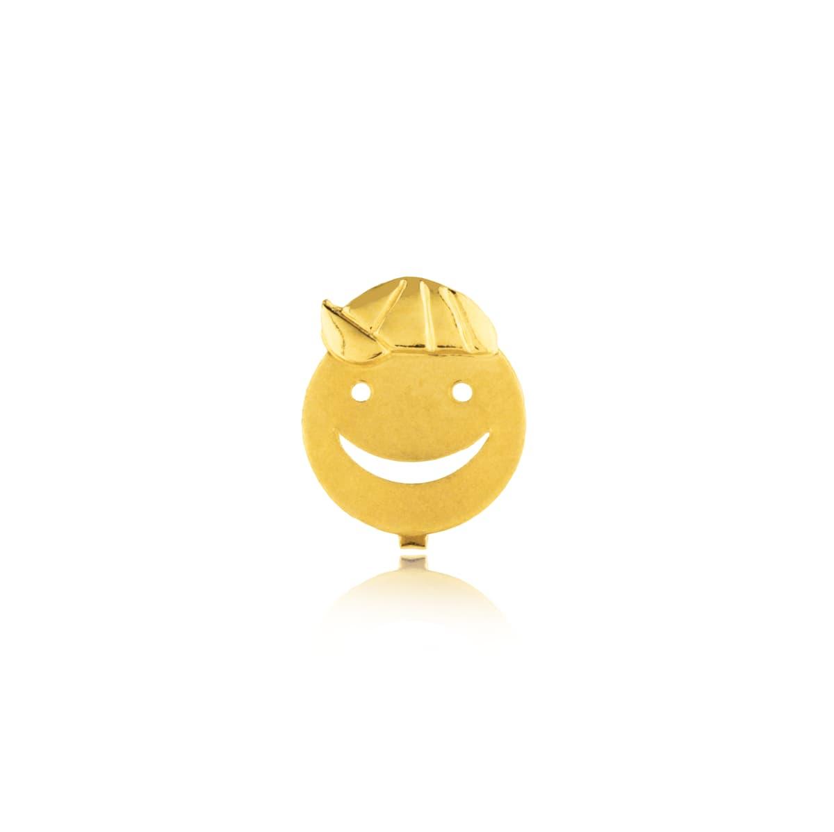 Pingente Menino Vazado em Ouro 18k