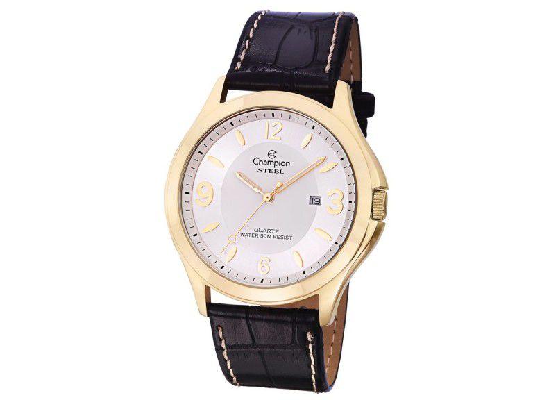 Relógio Analógico Champion Feminino Dourado