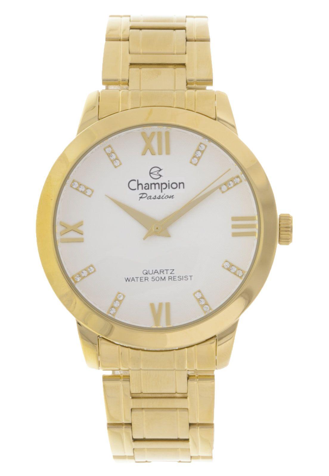 Relógio Champion Feminino Dourado