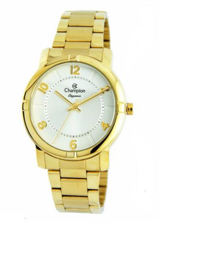 Relógio Champion Feminino Dourado - Elegance - CN26644W