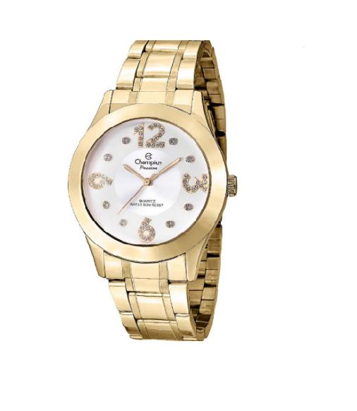 Relógio Champion Feminino Dourado - Passion - CN29178H