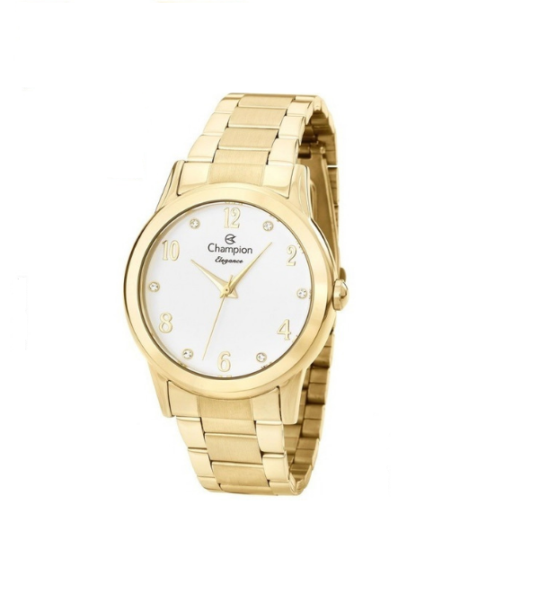 Relógio Champion Feminino Dourado - Elegance - CN26911H