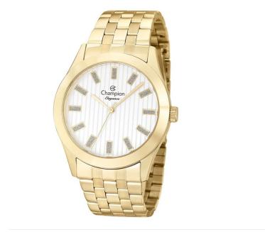 Relógio Champion Feminino Dourado - Elegance - CN26706H