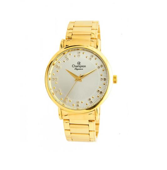 Relógio Champion Feminino Dourado - Elegance - CN25921H
