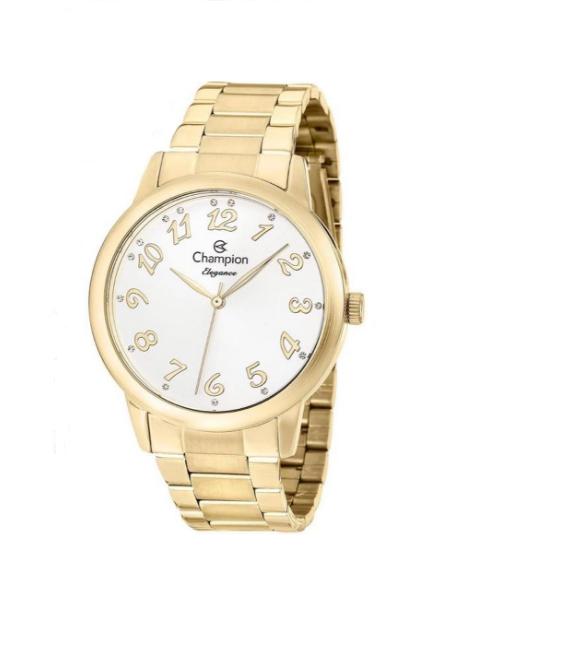 Relógio Champion Feminino Dourado - Elegance - CN26000W