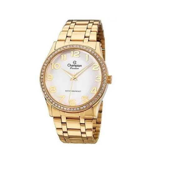 Relógio Champion Feminino Dourado - Passion - CN29810H