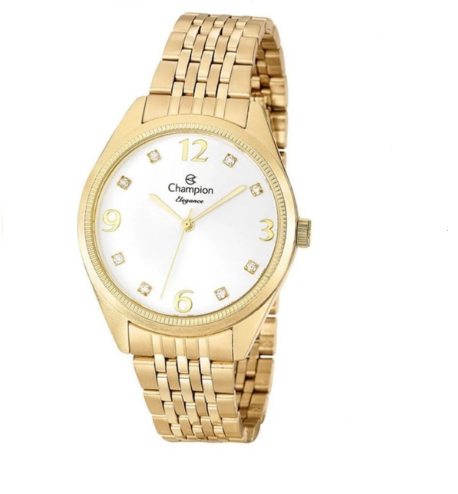 Relógio Champion Feminino Dourado - Elegance - CN26251W