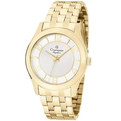 Relógio Champion Feminino Dourado - Elegance - CN25305S