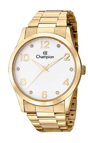 Relógio Champion Feminino Dourado - CN29052W