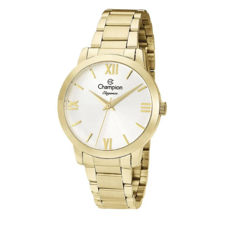 Relógio Champion Feminino Dourado -  Elegance - CN25403W