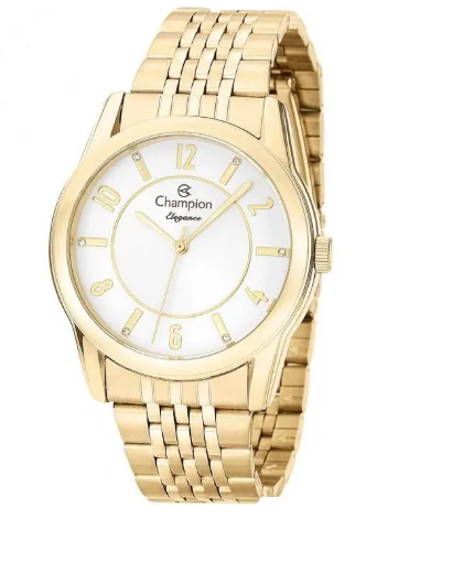 Relógio Champion Feminino Dourado - Elegance - CN26233W