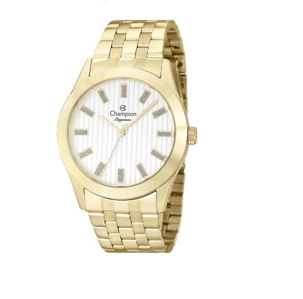Relógio Champion Feminino Dourado - Elegance - CN26706W