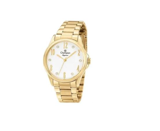 Relógio Champion Feminino Dourado - Elegance - CN26242W