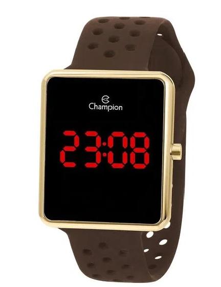 Relógio Champion Feminino Dourado - Digital - CH40081U