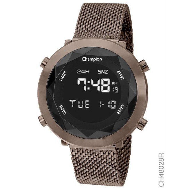 Relógio Champion  Marron - Digital - CH48028R