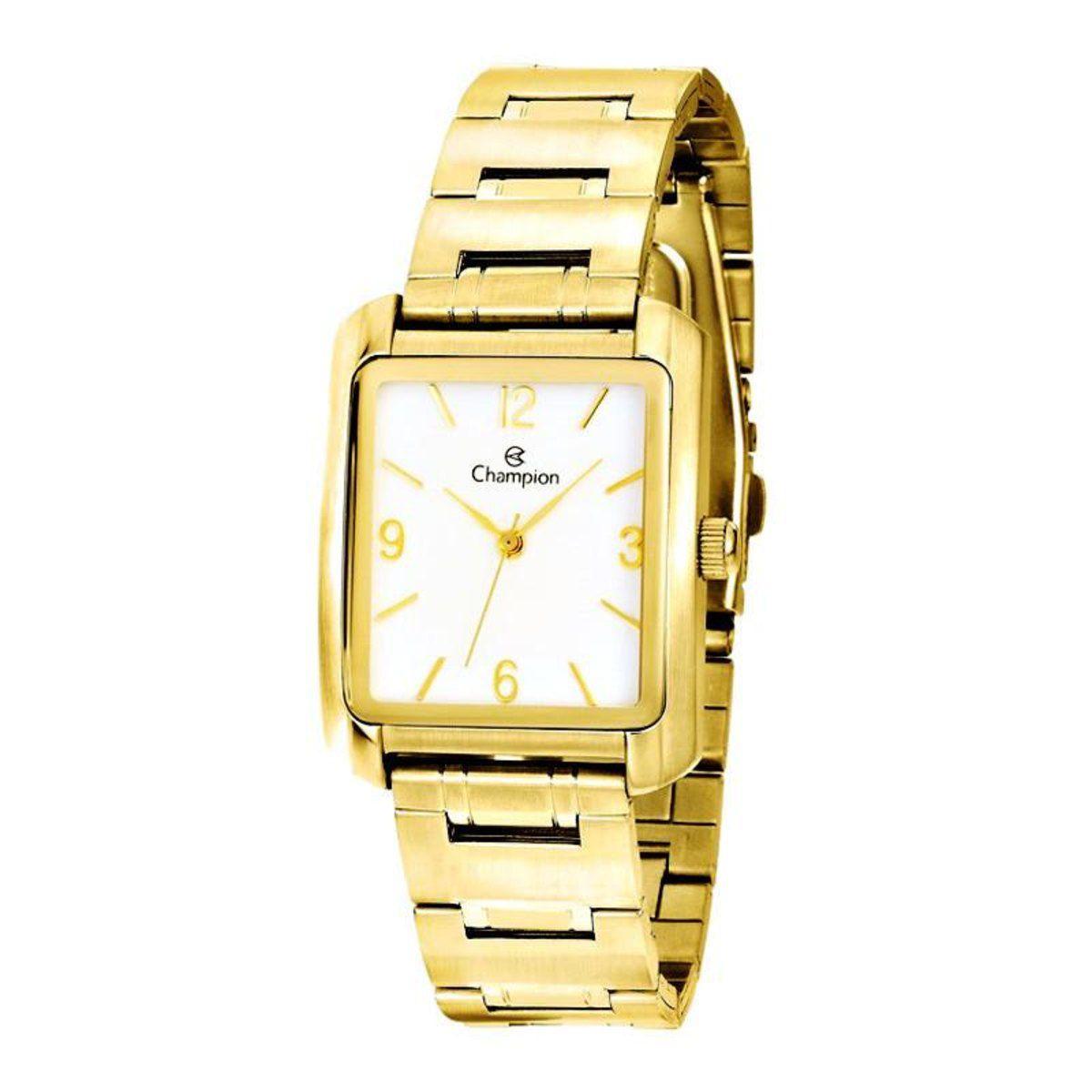 Relógio Champion Dourado Feminino