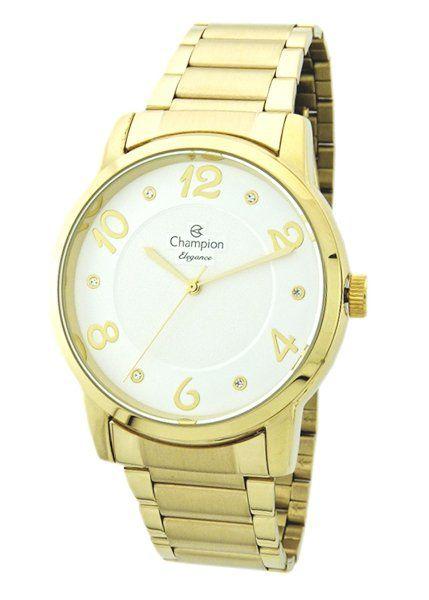 Relógio Champion  Feminino Dourado - Elegance - CN26117H