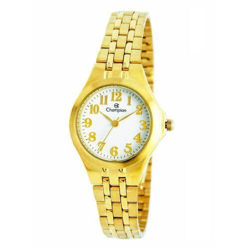 Relógio Champion Feminino Dourado - CH24848H