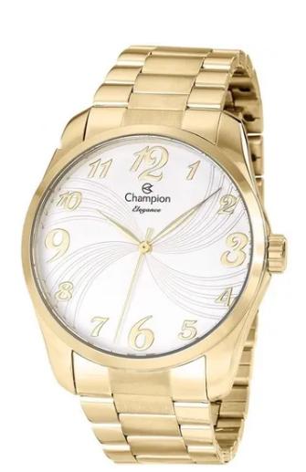 Relógio Champion Feminino Dourado - Elegance - CN26715W