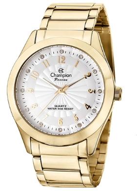 Relógio Champion Feminino Dourado -  Passion - CN29409D