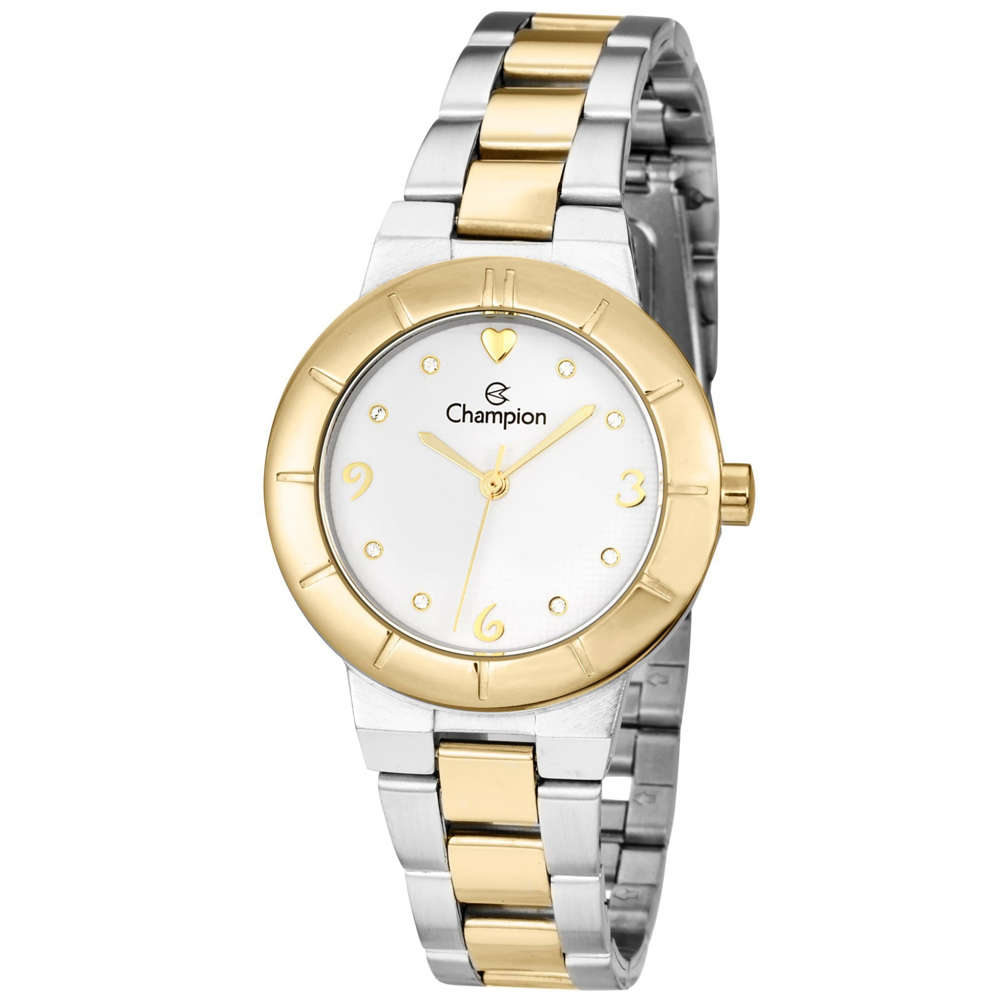Relógio Champion Feminino Bicolor Social - CH26855B