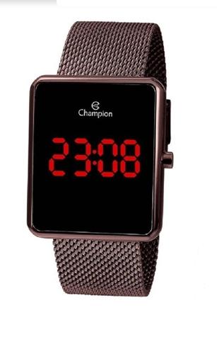 Relógio Champion Feminino Bronze Digital Led -  CH40080O