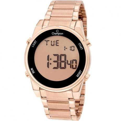Relógio Champion Feminino Rosé - Digital - CH40071X