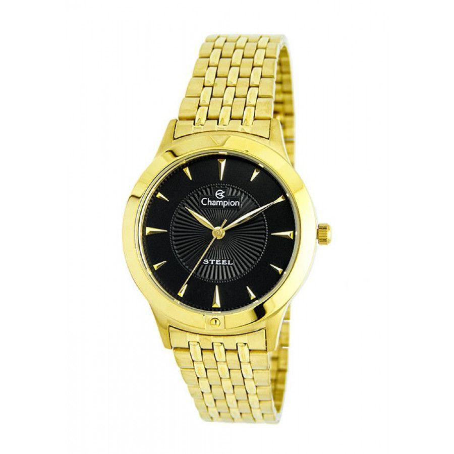 Relógio Champion Feminino Dourado - Steel - CA21697U