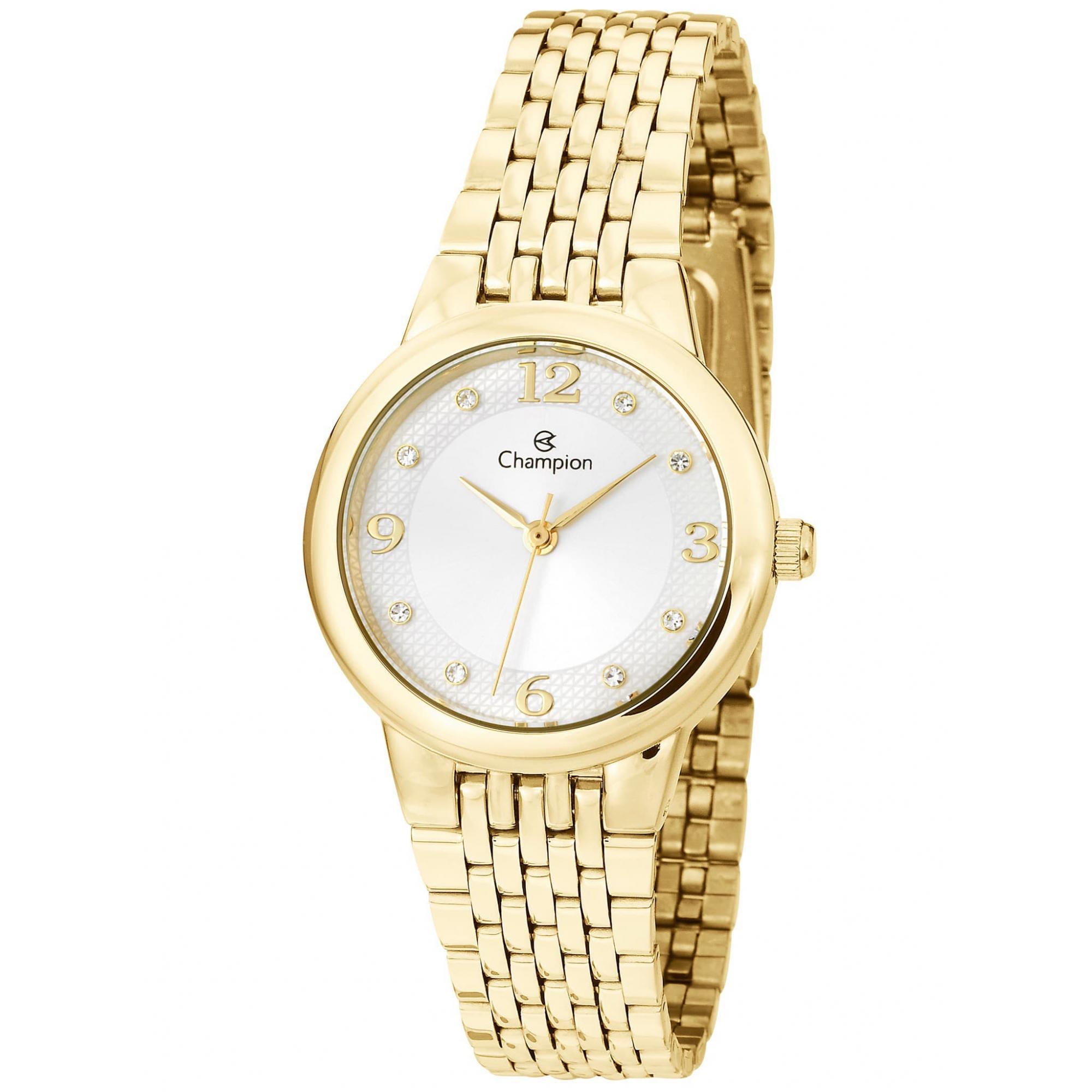 Relógio Champion Feminino Dourado - CH24857B