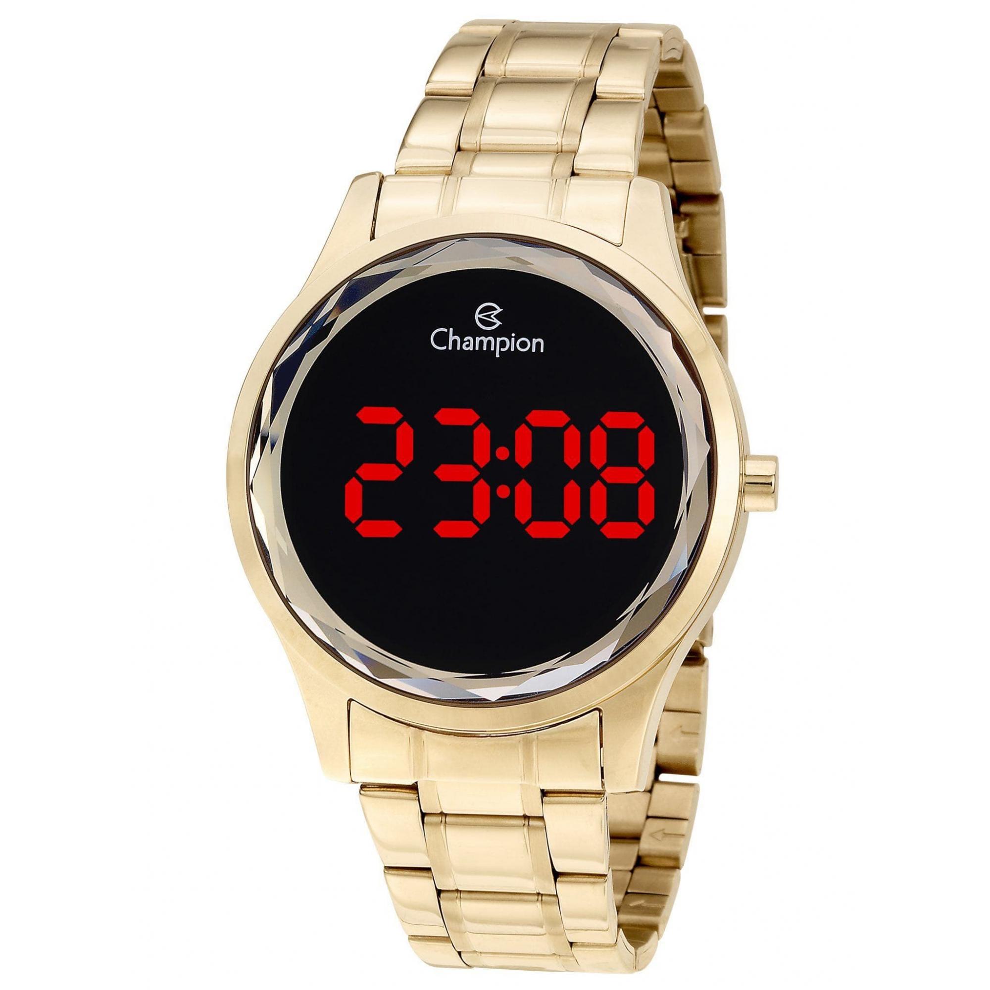 Relógio Champion Feminino Dourado - Digital - CH48019V