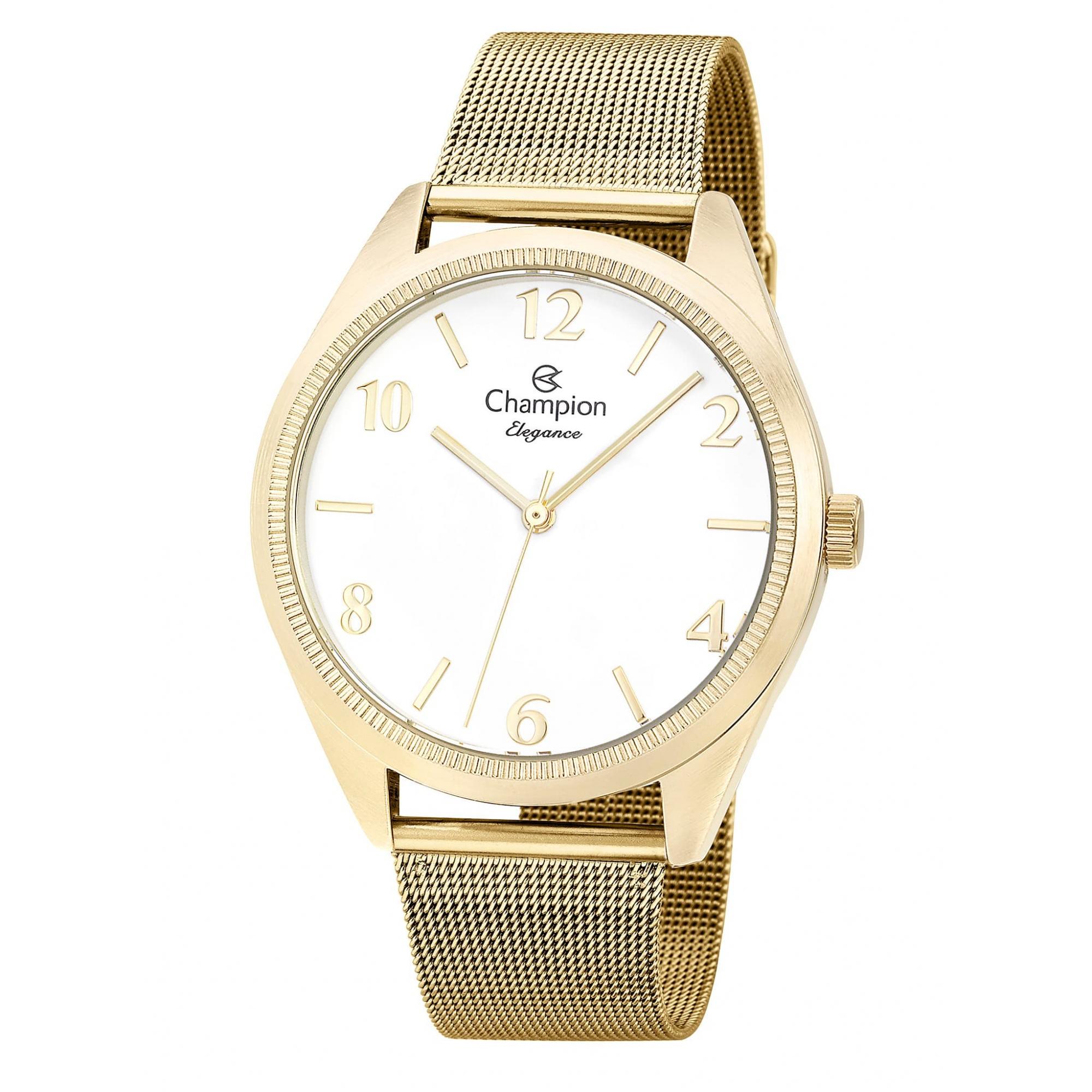 Relógio Champion Feminino Dourado - Elegance - CN25172M