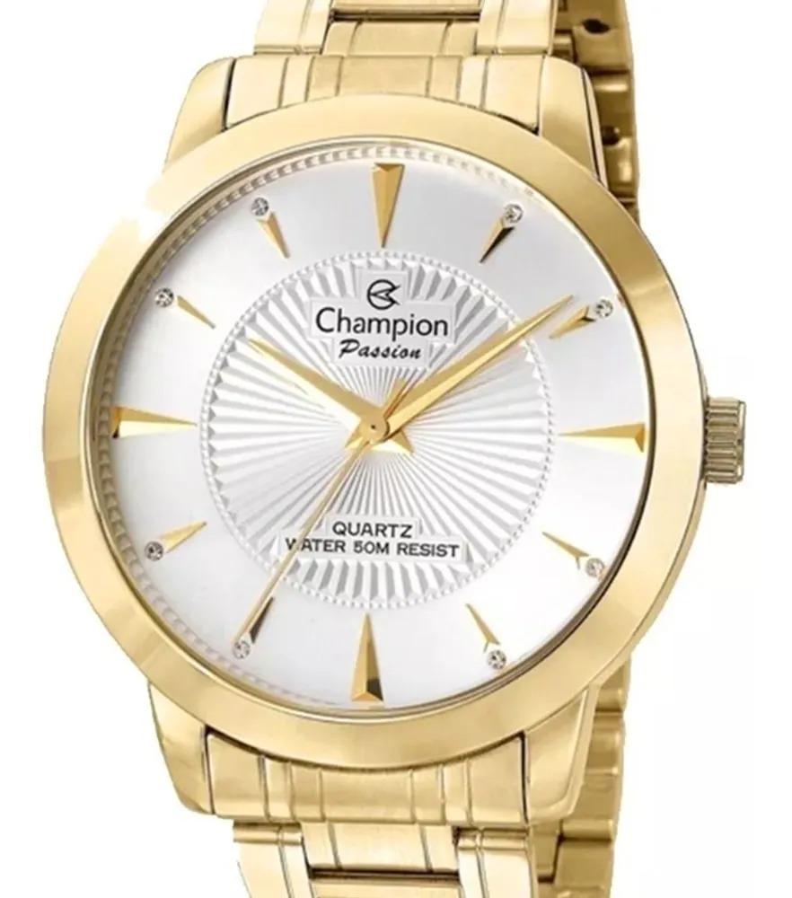 Relógio Champion Feminino Dourado - Passion -  CN29258H
