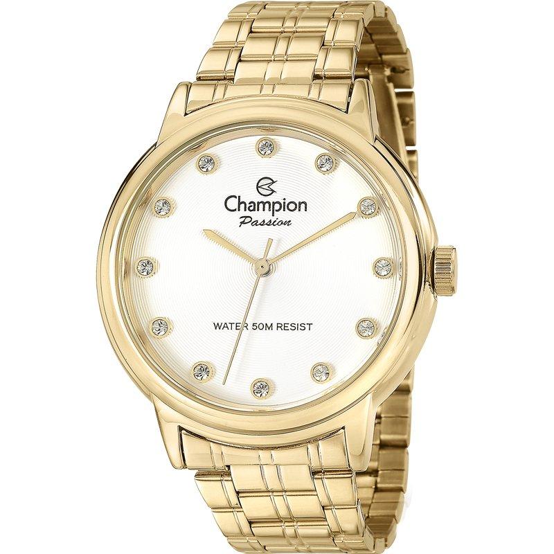 Relógio Champion Feminino Dourado - Passion - CN29874W