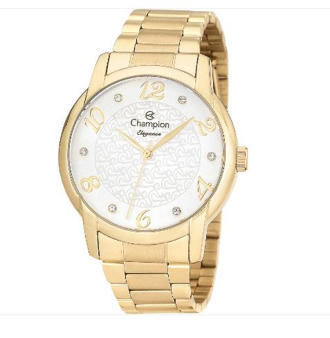 Relógio Champion Feminino Dourado -Elegance - CN26224H