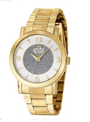 Relógio Champion Feminino  Dourado - Elegance - CN25136S