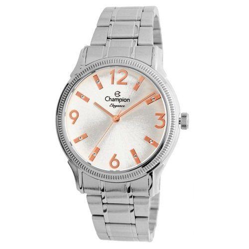 Relógio Champion Feminino Prata