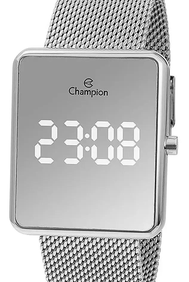 Relógio Champion Feminino Prata - Digital Led - CH40080S