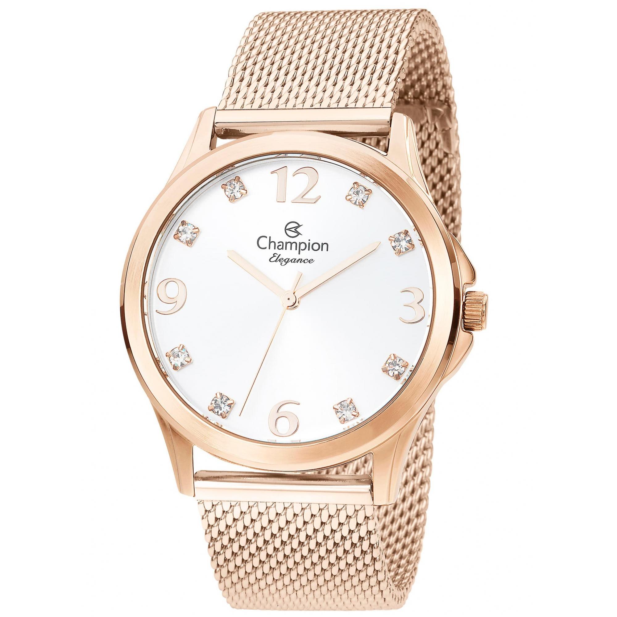 Relógio Champion Feminino Rosé - Elegance - CN24093Z