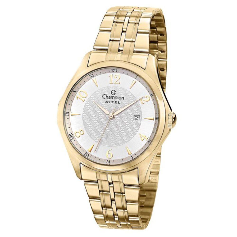 Relógio Champion Masculino Dourado - Steel - CA21615H