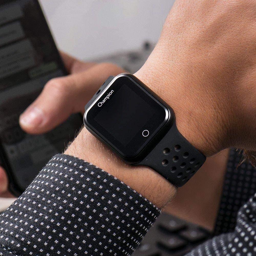 Relógio Champion Preto Unissex - Smartwatch - CH50006P