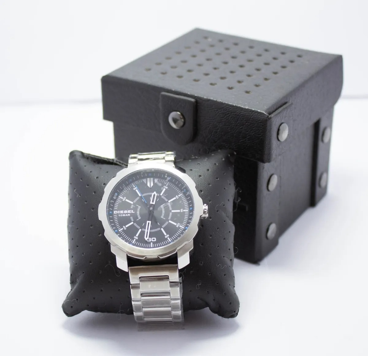 Relógio Diesel Masculino Aço com Fundo Preto - DZ1786/1PN