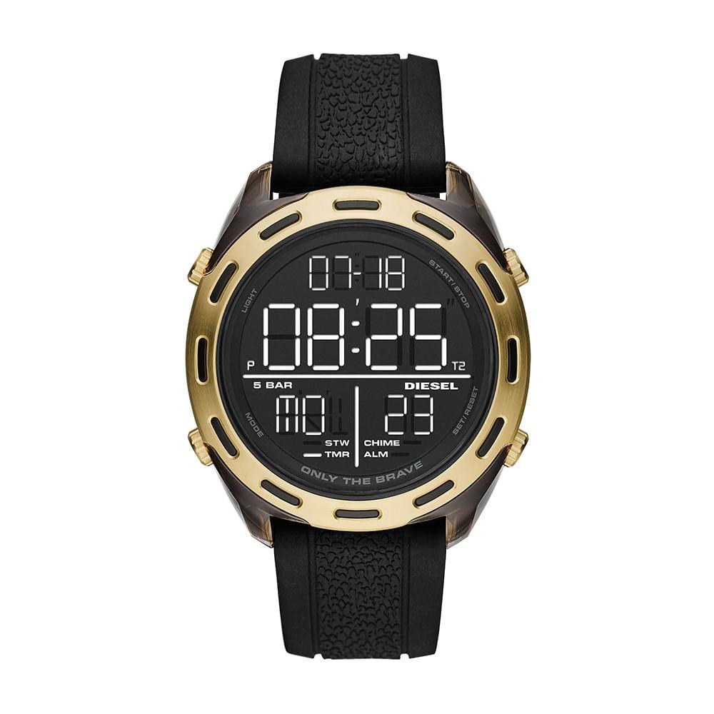 Relógio Diesel Masculino Dourado - Crusher - DZ1901/8PN