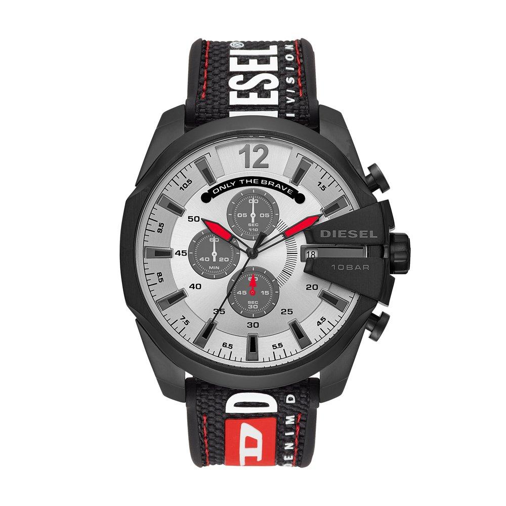 Relógio Diesel Masculino Preto - Mega Chief - DZ4512/8PN