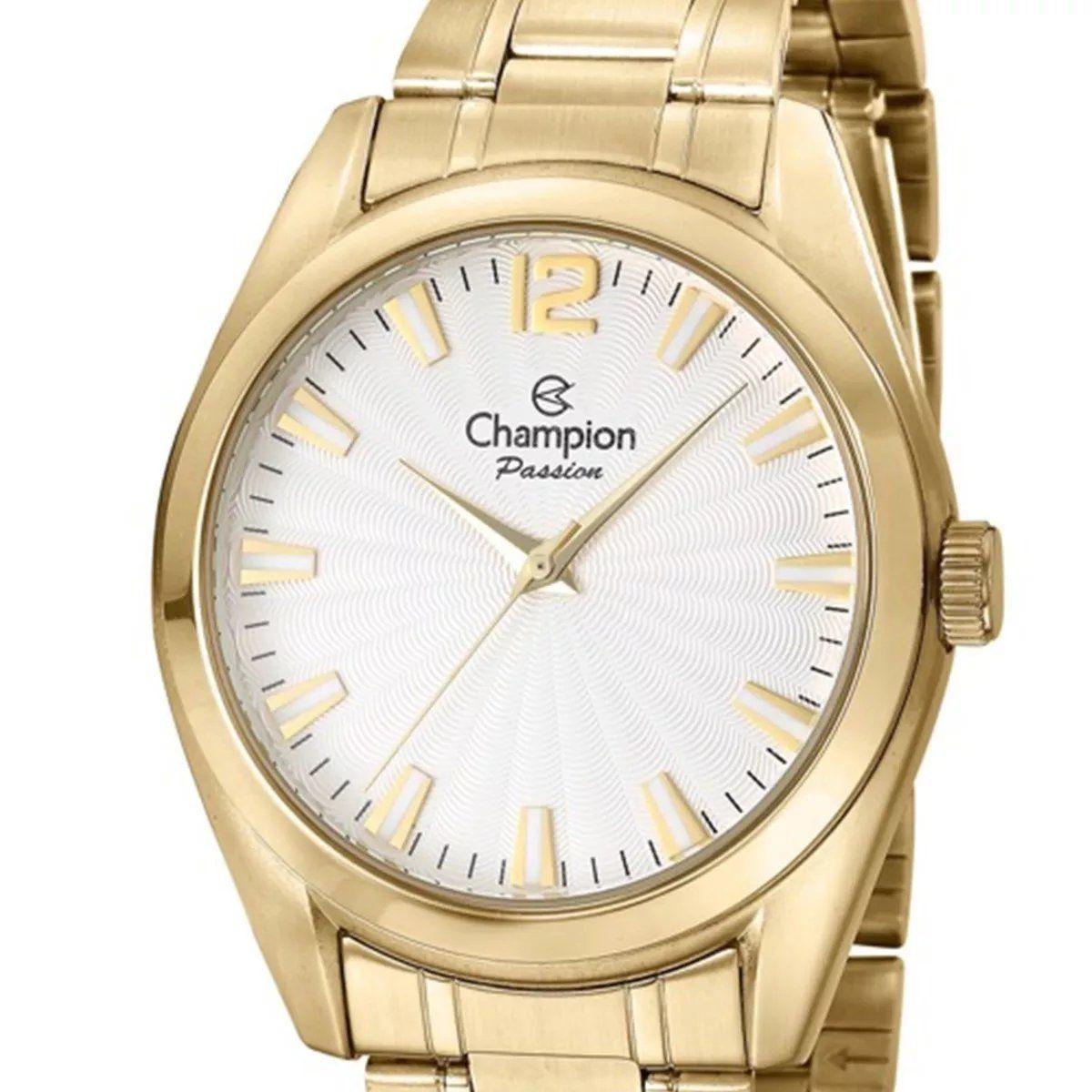 Relógio Champion Feminino  Dourado - Passion - CN29865W